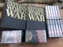 TWENTY-FOUR VHS SET- ADOLF HITLER'S THIRD REICH, PLUS EIGHT HISTORY OF THE SECOND THIRD WAR VOLUME SET