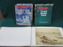 PARCEL OF 1950s MOTOR YEARBOOKS PLUS ALBUM OF PHOTOGRAPHS, SOUVENIR OF A VOYAGE TO EGYPT 1883