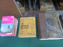 OLD FAMILY BIBLE, ORDINANCE SURVEY MAPS AND 1939 CLASSIFIED TELEPHONE DIRECTORY
