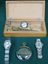 SELECTION OF VARIOUS WATCHES MAINLY MODERN.