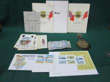 COLLECTION OF MEMORABILIA RELATING TO THE FALKLANDS INCLUDING BANK NOTES, POSTCARDS, FIRST DAY COVERS ETC.