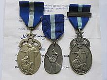 SILVER MASONIC HOSPITAL JEWEL AND TWO BASE METAL HOSPITAL JEWELS INCLUDING GRAND PATRON