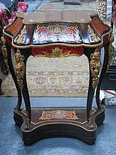 GOOD QUALITY GILDED BOULLE WORK AND ORMOLU MOUNTED FRENCH STYLE BRACKET CLOCK STAND