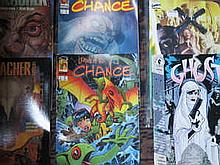 BOX CONTAINING APPROX. 200+ MARVEL, DC AND OTHER SUPER HERO COMICS MAINLY AMERICAN ISSUE INCLUDING MAIN THING, IMMORTAL TWO ETC.