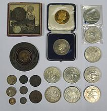 MIXED LOT OF COMMEMORATIVE AND OTHER COINAGE