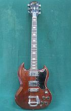 1970s USA GIBSON ELECTRIC GUITAR, SERIAL NUMBER 896335, IN HARD CASE