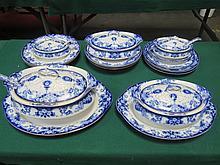 PARCEL OF ROYAL DOULTON AUDLEY DINNERWARE, APPROXIMATELY TWENTY-PLUS PIECES