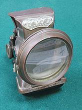 VINTAGE LUCAS SILVER KING AUTOCYCLE LAMP