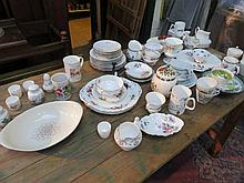 SUNDRY CERAMICS, PART TEASETS ETC.