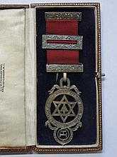 SILVER MASONIC ROYAL ARCH JEWEL