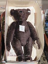 STEIFF LIMITED EDITION BRITISH COLLECTORS 1907 REPLICA TEDDY BEAR, APPROXIM