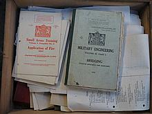 SMALL PARCEL OF MIXED MILITARY RELATED EPHEMERA