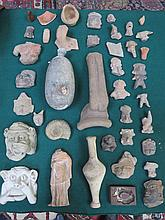 PARCEL OF VARIOUS INTERESTING MEDIEVAL ANCIENT GREEK STYLE STONE CARVINGS