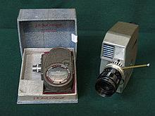 CASED GB BELL AND HOWELL SPORTSTER DUO 8mm CINE