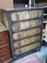 ART DECO STYLE FIVE DRAWER CHEST