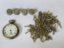 SMITHS POCKET WATCH, PARCEL OF VARIOUS POCKET WATC