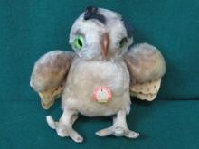 VINTAGE STEIFF OWL- WITTIE