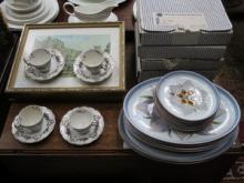PARCEL OF BOXED COLLECTORS' PLATES, FOUR FRAMED PR