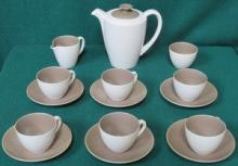 POOLE FIFTEEN PIECE COFFEE SET