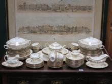 PARCEL OF AYNSLEY 'HENLEY' DINNERWARE, APPROXIMATE