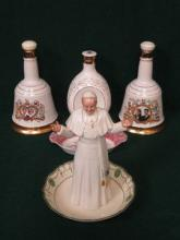 ROYAL DOULTON FIGURE (AT FAULT), TWO WADE BELLS WH