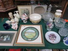 SUNDRY LOT INCLUDING FRAMED CARDEN PARK COLLECTORS