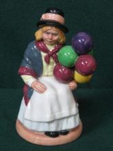 ROYAL DOULTON GLAZED CERAMIC FIGURE- BALLOON GIRL,