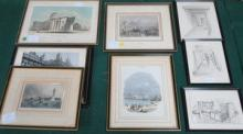 PARCEL OF FRAMED PRINTS INCLUDING LOCAL RELATED SC