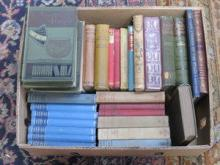 BOX LOT CONTAINING VARIOUS VOLUMES INCLUDING THE S