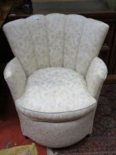PRETTY UPHOLSTERED TUB CHAIR