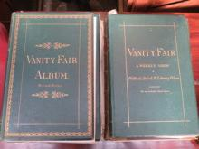 TEN VINTAGE VANITY FAIR ALBUMS, DIFFERENT SERIES