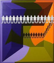 Arrangement #4, Paper People by Leonard Everett Fisher