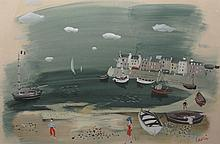 Charles Levier: Normandy Harbor