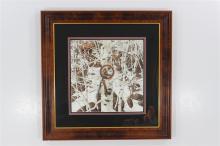 Framed Bev Doolittle Print Signed