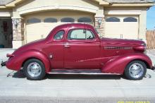 1938 Chevy Master Deluxe Coupe (Burgundy)