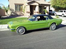 1966 Ford Mustang (Green)