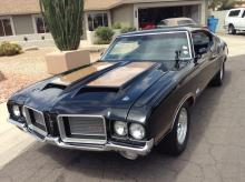 1972 Oldsmobile Cutlass Coupe (Black)