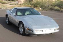 1996 Chevy Corvette Coupe (Silver)