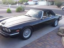 1991 Jaguar XJS Convertible  (Black)