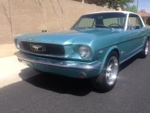 1966 Ford Mustang (Tahoe Turquoise)