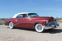 1953 Buick Skylark Convertible (Red)