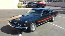 1969 Ford Mustang Mach1 (Black)