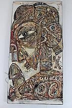 African Art Tapestry Male