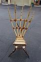 Native American Handmade Horn Chair