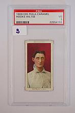 1909 E95 Philadelphia Carmel Hooks Wiltse PSA VG 3