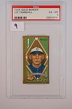 1911 T205 Gold Border Lee Tannehill PSA 6