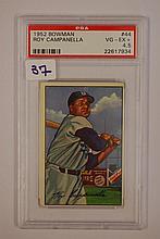 1952 Bowman 44 Roy Campanella VG + 4.5