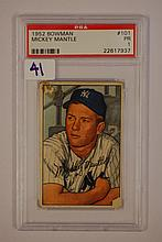 1952 Bowman 101 Mickey Mantle PSA PR 1