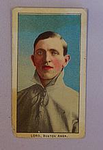 1909 Philadelphia Carmel (E95)- Harry Lord