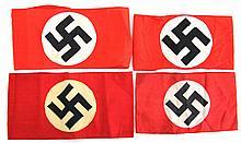 WWII GERMAN NSDAP ARMBAND LOT